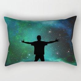 Universe Man Rectangular Pillow