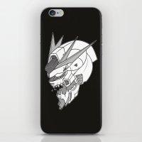 gundam iPhone & iPod Skins featuring Gundam x Eva by AltheonBallistics