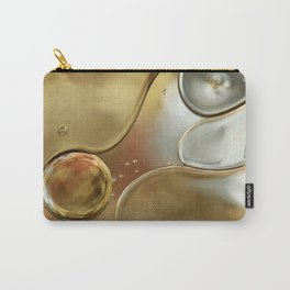 A Touch of Silver and Gold Carry-All Pouch