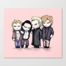 Lost Plushie Boys Canvas Print