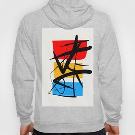 Synchronicity Abstract Art Minimalist in the zen spirit Hoody