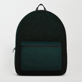 Emerald and Gold Accents Backpack