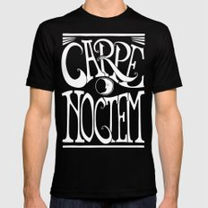 Carpe Noctem - black Mens Fitted Tee Black 2X-LARGE