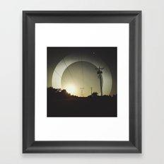 Oscilate Framed Art Print