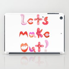 Let's Make Out! iPad Case