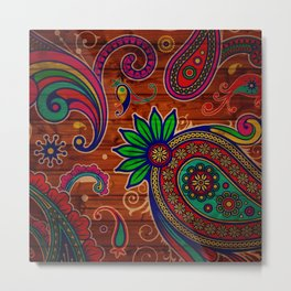art that exudes charm to the beauty Metal Print
