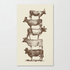 Cow Cow Nuts Canvas Print