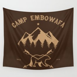 CAMP EMBOWAFA Wall Tapestry