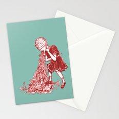 Floral Vomit Stationery Cards