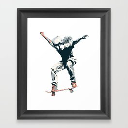 Skater 2 Framed Art Print