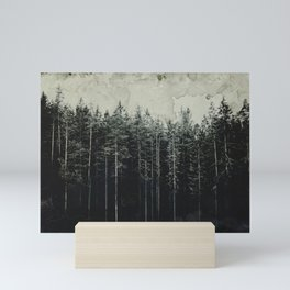 Woodsy Vintage Edition Mini Art Print