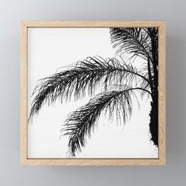 Palm Strings Framed Mini Art Print