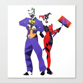Jokedude & Harley Canvas Print