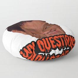 David S. Pumpkins - Any Questions? III Floor Pillow