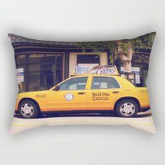 Yellow Cab Co ∫ Living Los Angeles Rectangular Pillow