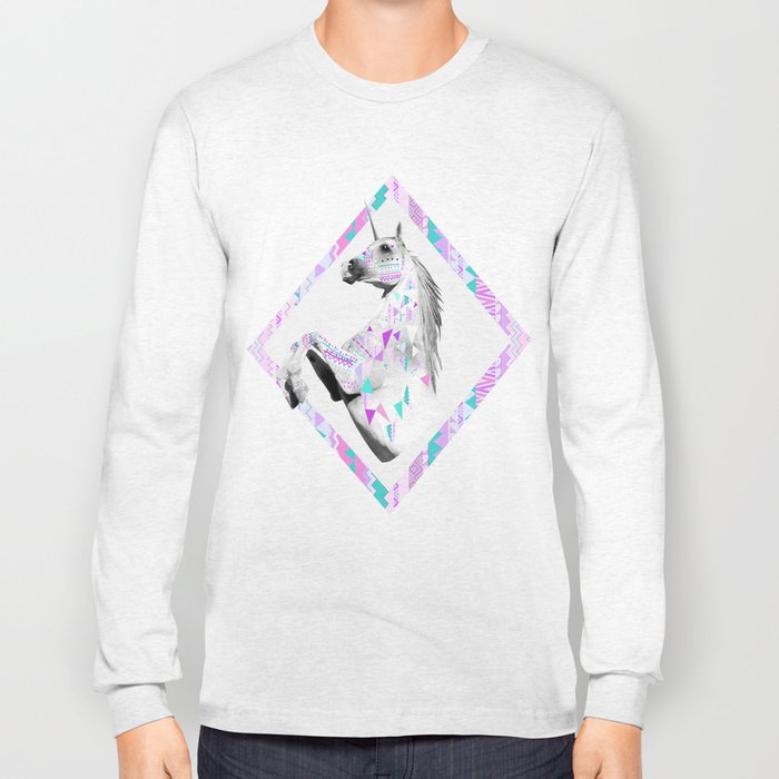 TWIN SHADOW by Vasare Nar and Kris Tate Long Sleeve T-shirt
