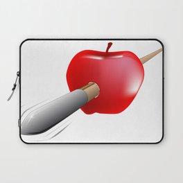Arrow And Apple Laptop Sleeve
