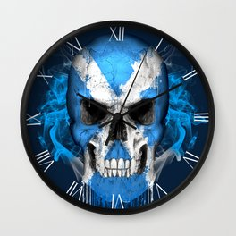 To The Core Collection: Scotland Wall Clock