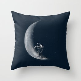 Science is not boring Throw Pillow