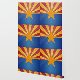 Fancy Flag: Arizona Wallpaper