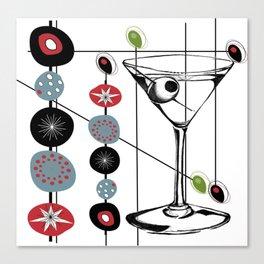 Mid-Century Modern Art Atomic Cocktail 3.0 Canvas Print