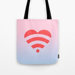 Wireless Love Tote Bag