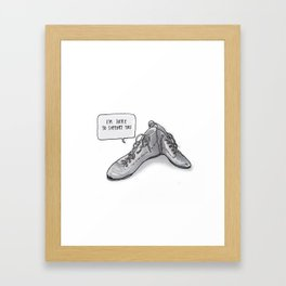 listen to your sole Framed Art Print