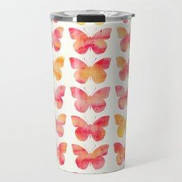 Butterflies Watercolor 1 Travel Mug