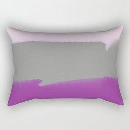 Violet & Gray Rectangular Pillow