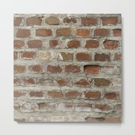 Texture #3 Bricks Metal Print