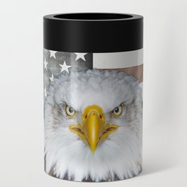 American Bald Eagle Patriot Can Cooler