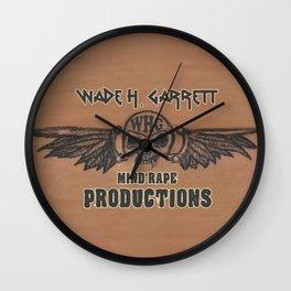 Mind-Rape Productions Wall Clock