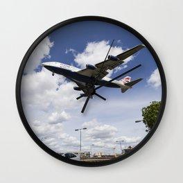 British Airways Boeing 747 Wall Clock