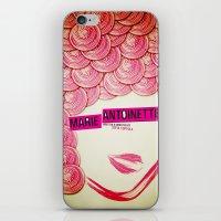 marie antoinette iPhone & iPod Skins featuring Marie Antoinette by Linda Hordijk