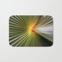Palm leaf zoom Bath Mat