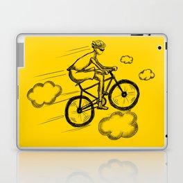 Biking in the Clouds Laptop & iPad Skin