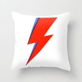 Bowie Ziggy Throw Pillow
