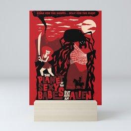 B-Movie Mini Art Print