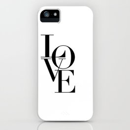 LOVE IS SWEET, Love Sign,Love Art,Wedding Decor,Anniversary Quote,Love Symbol,Love you more iPhone Case