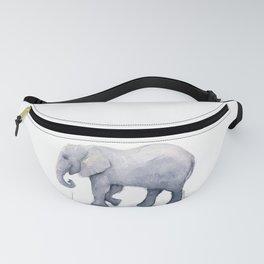 Elephant Watercolor Fanny Pack