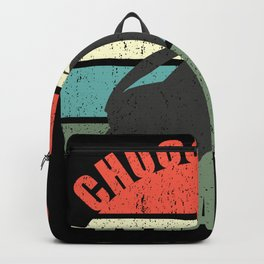 Choose your Weapon Retro Sunset Golf Backpack