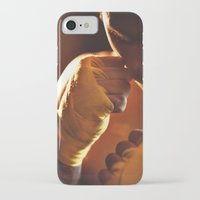 fight iPhone & iPod Cases featuring Fight. by Alexey & Julia