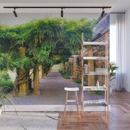 Garden Pergola Wall Mural