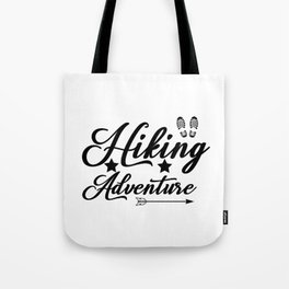 Hiking Adventure Tote Bag
