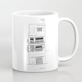 Jeddah AlBalad Abu Inabah Facade Saudi Arabia Coffee Mug