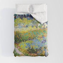 12,000pixel-500dpi - Vincent van Gogh - Garden At Arles, Flowering Garden With Path Comforters
