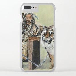 King Ezekiel and Shiva Clear iPhone Case