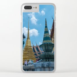 The Grand Palace, Bangkok, Thailand Clear iPhone Case