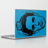 kerouac Laptop & iPad Skins featuring Outlaws of Literature (Jack Kerouac) by Silvio Ledbetter