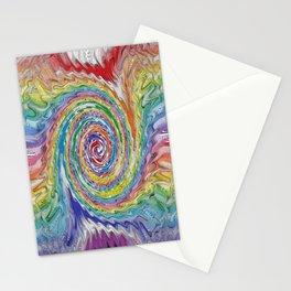 A Colorful Splatter Stationery Cards